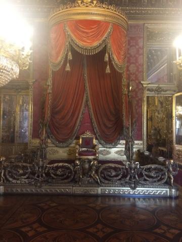 trono palazzo reale torino