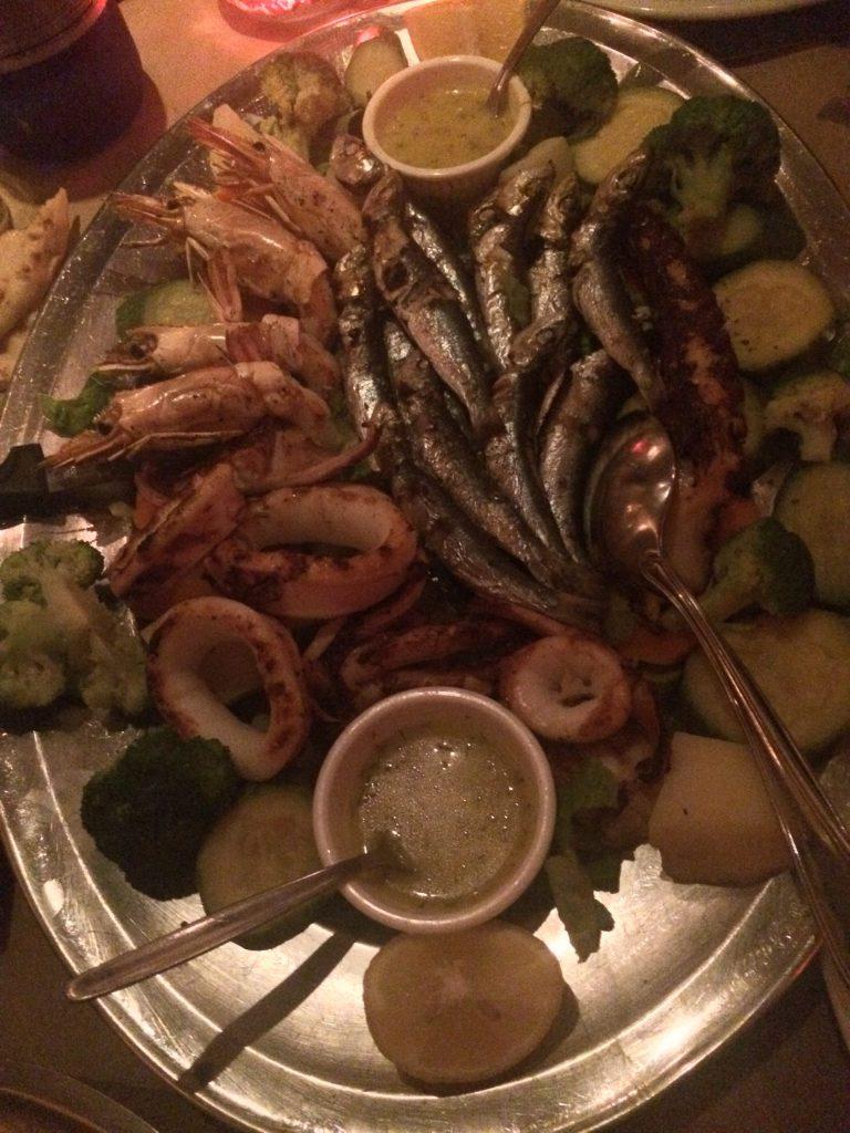 pesce grigliata grecia